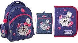 Школьный набор 3в1 Kite Education Fluffy bunny K19-521S