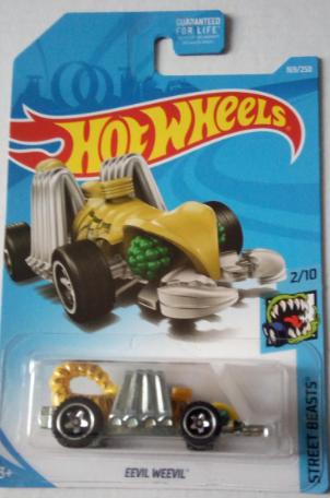Машинка Hot Wheels 2019 Eevil Weevil