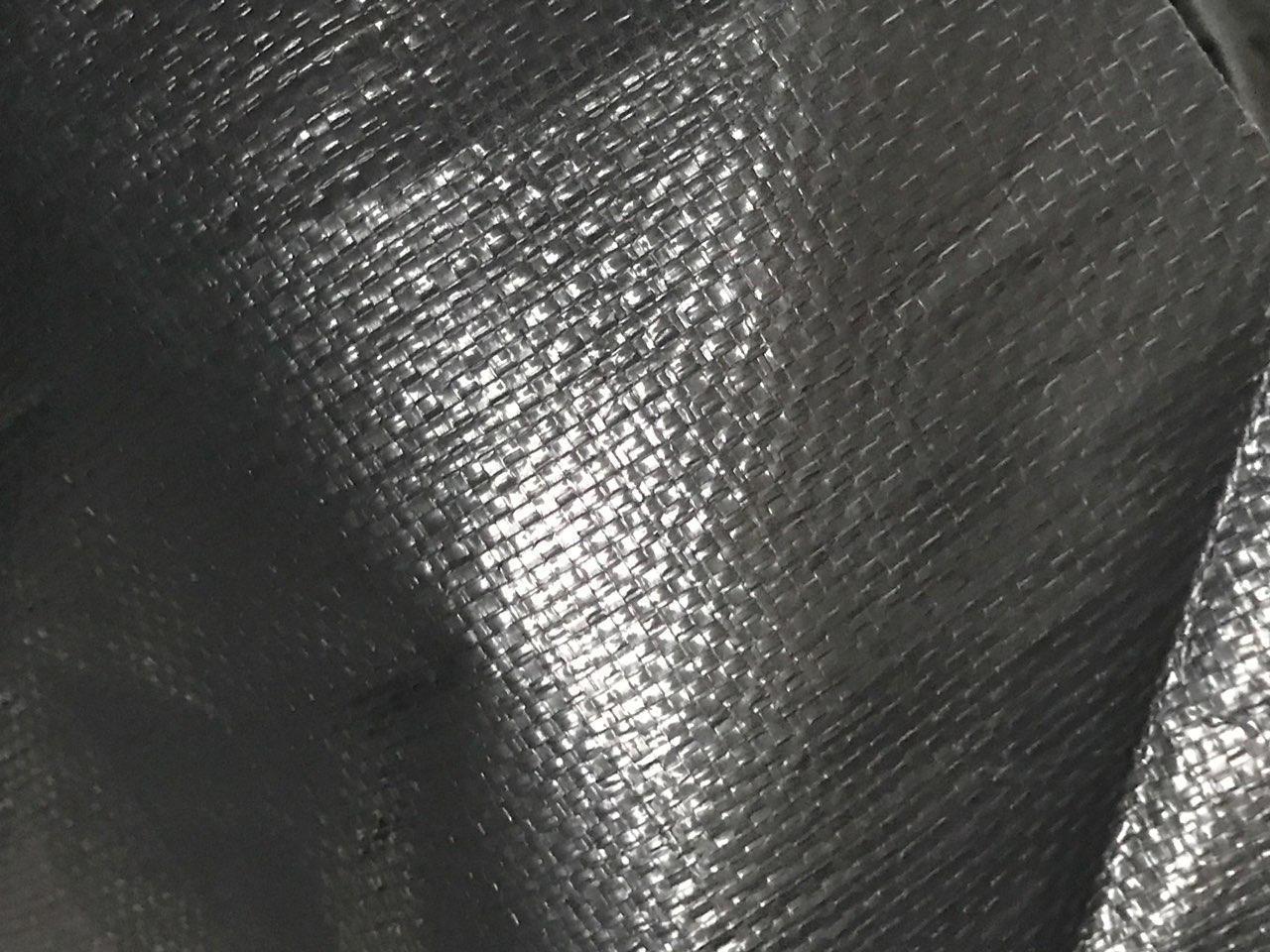 Тент Bradas темно-сірий тарпаулін 200 гр/м2, розмір 3х4м