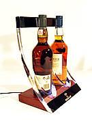 Фирменная подставка, дисплей для виски с подсветкой Macallan, оригинал Шотландия