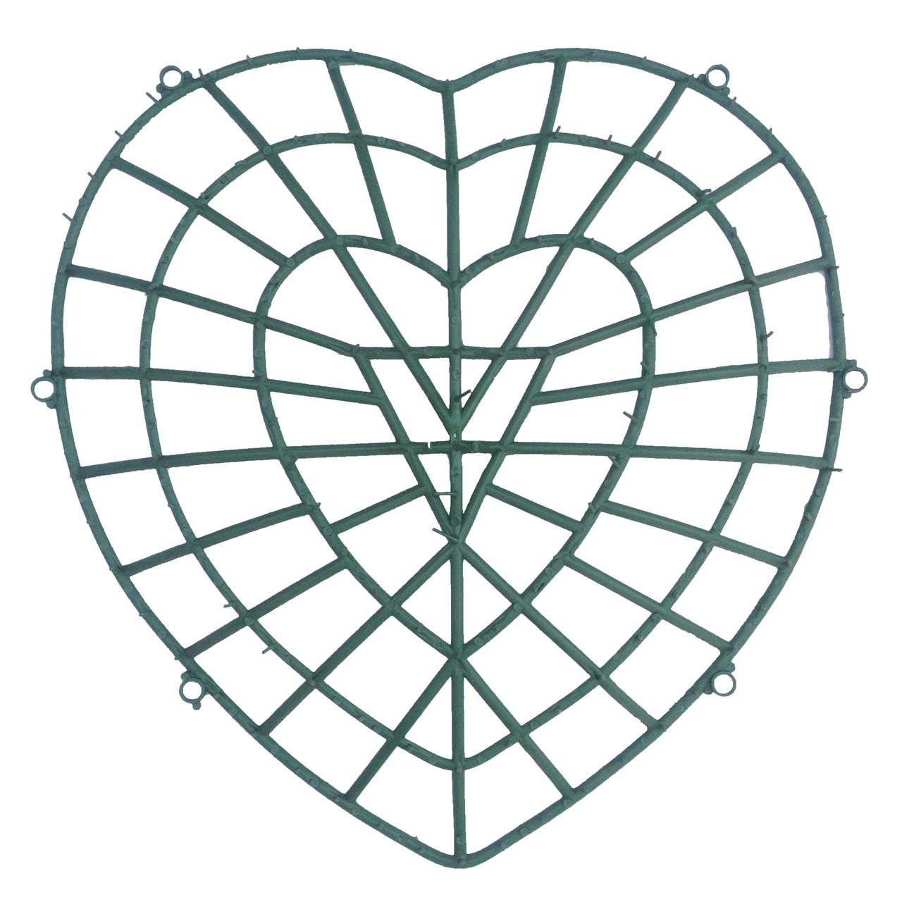 Каркас сердце 50 см