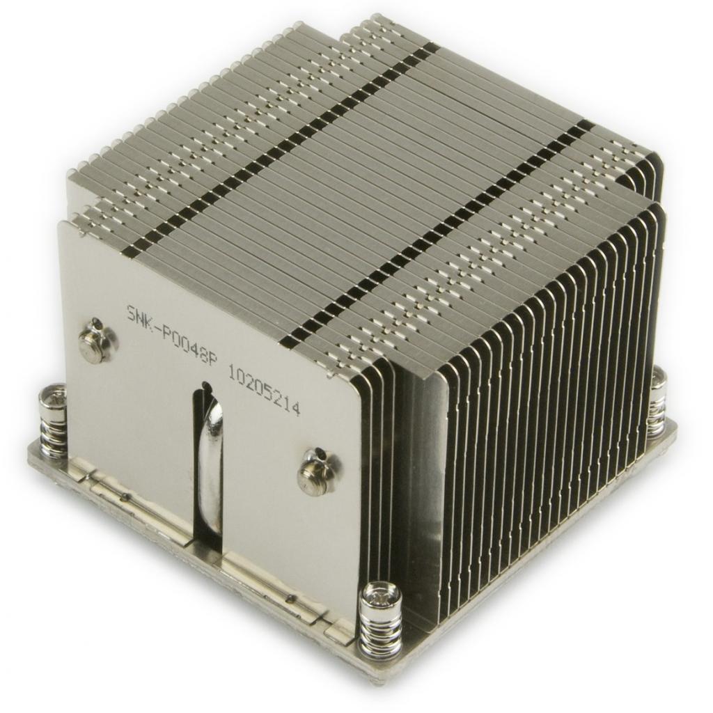 Кулер Supermicro SNK-P0048P/LGA2011/2U Passive/Xeon E5-2600 Series (SNK-P0048P)