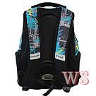 Рюкзак Winner Stile 239 чёрно-голубой, фото 2