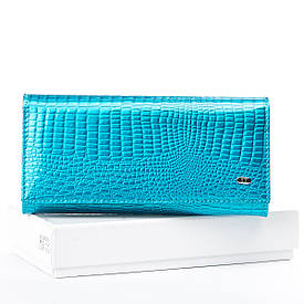 Кошелек LR кожа-лак SERGIO TORRETTI W1-V light-blue