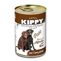 Консервы KIPPY Dog для собак с ягненком и рисом, 400 г