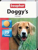 Витамины Beaphar Doggy ливер, 75 шт.
