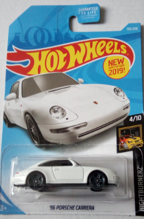 Машинка Hot Wheels 2019 '96 Porsche Carrera