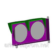 Светофоры светодиодные 2х секционные Pharos 12 Вт. диаметр 200 мм.  сигнальный, транспортный., фото 3