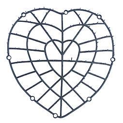 Каркас сердце 40см