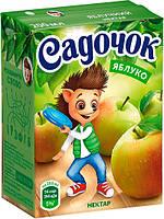Сок Садочок Яблочный нектар 0.2 л
