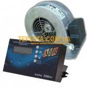Комплект автоматики для твердотопливных котлов МРТ-AIR AUTO + вентилятор