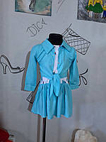 Комплект для дівчинки Рубашка-туника, платье, шляпа