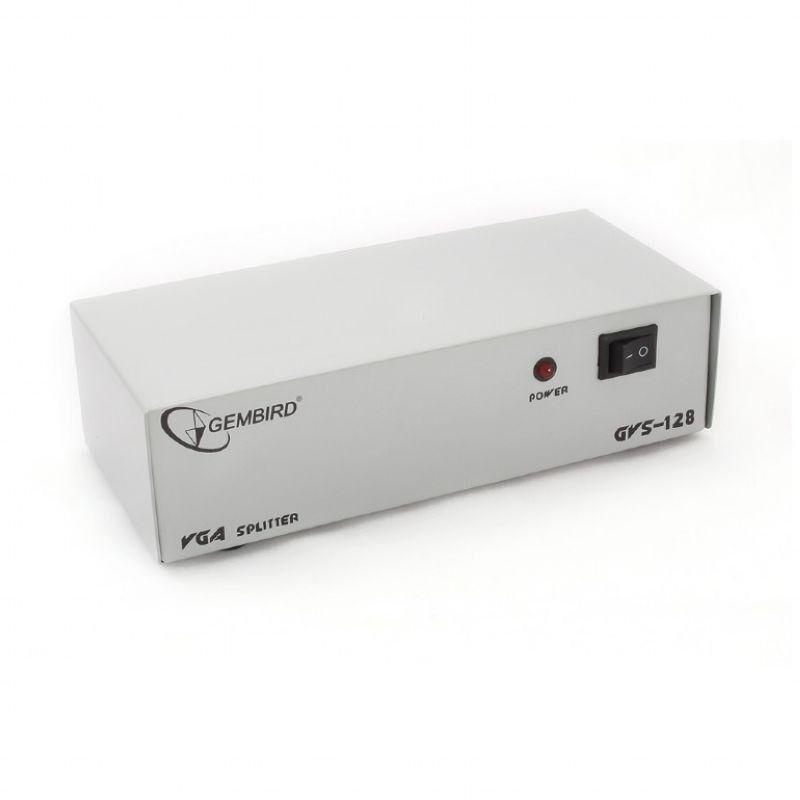 Внешний видео сплиттер Gembird GVS12 GVS-128 в отличном состоянии!