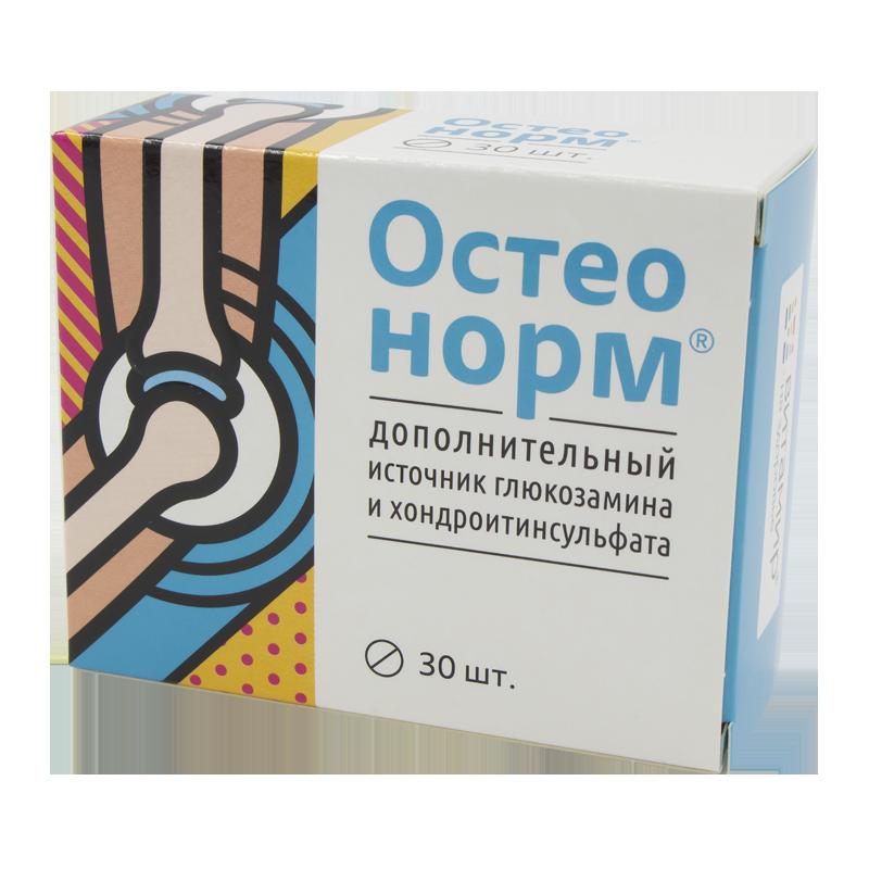 """Остеонорм """"Витамир"""" - дополнительный источник глюкозамина и хондроитинсульфата, 30 таб."""