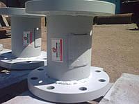 Клапан обратный 19с16нж Ду40 Ру16 поворотный фланцевый
