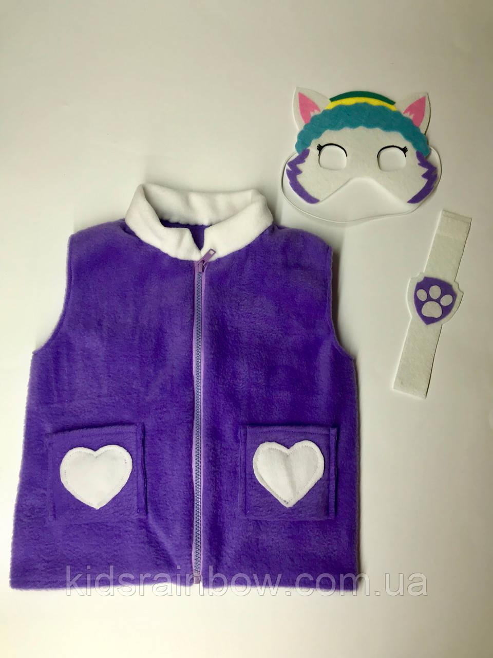 Флисовая жилетка костюм героев Щенячий патруль Эверест