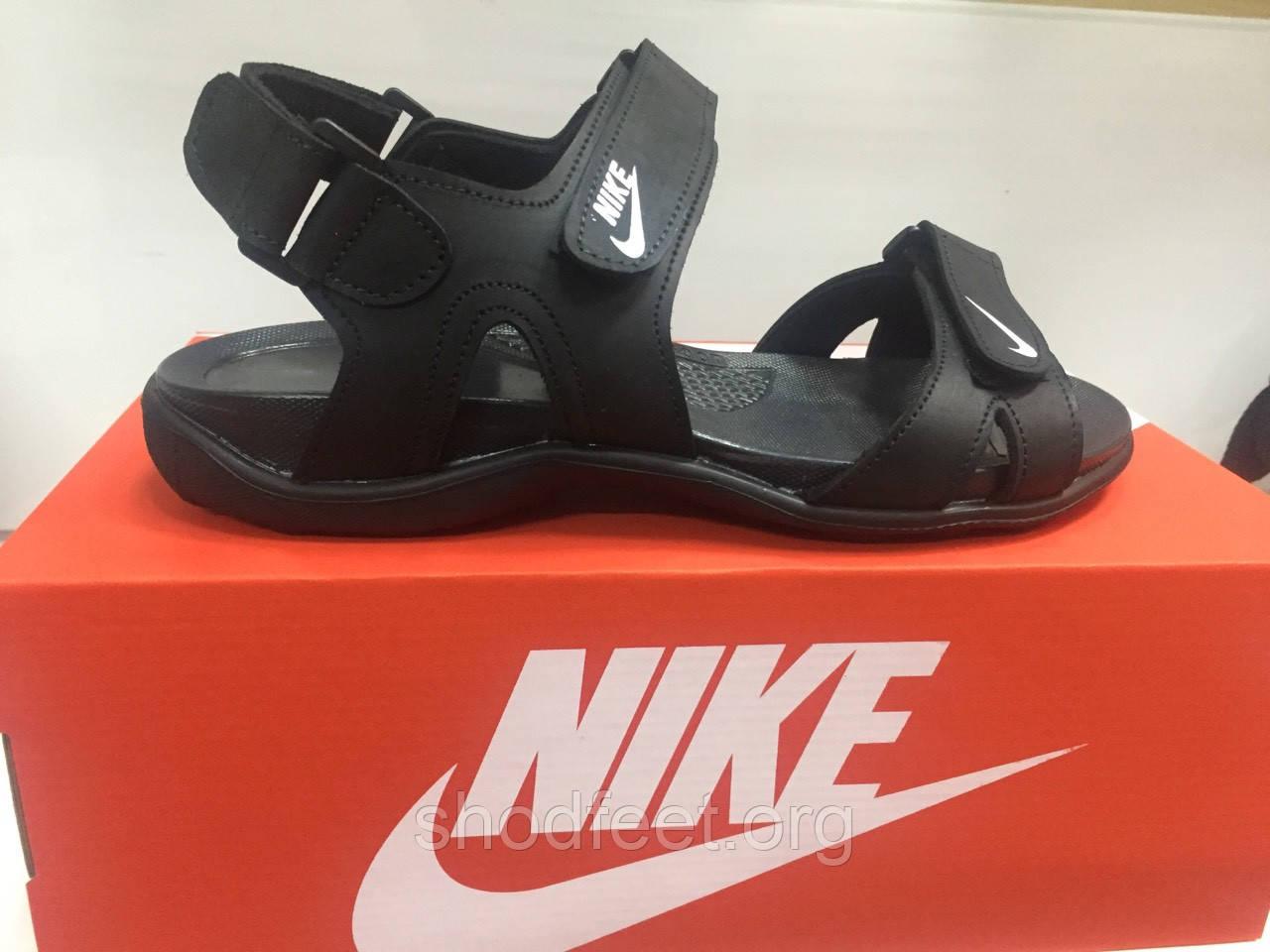 Мужские сандалии Nike Black