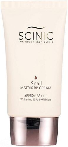 ББ-крем с улиточным муцином Scinic Snail Matrix BB Cream SPF50+PA+++