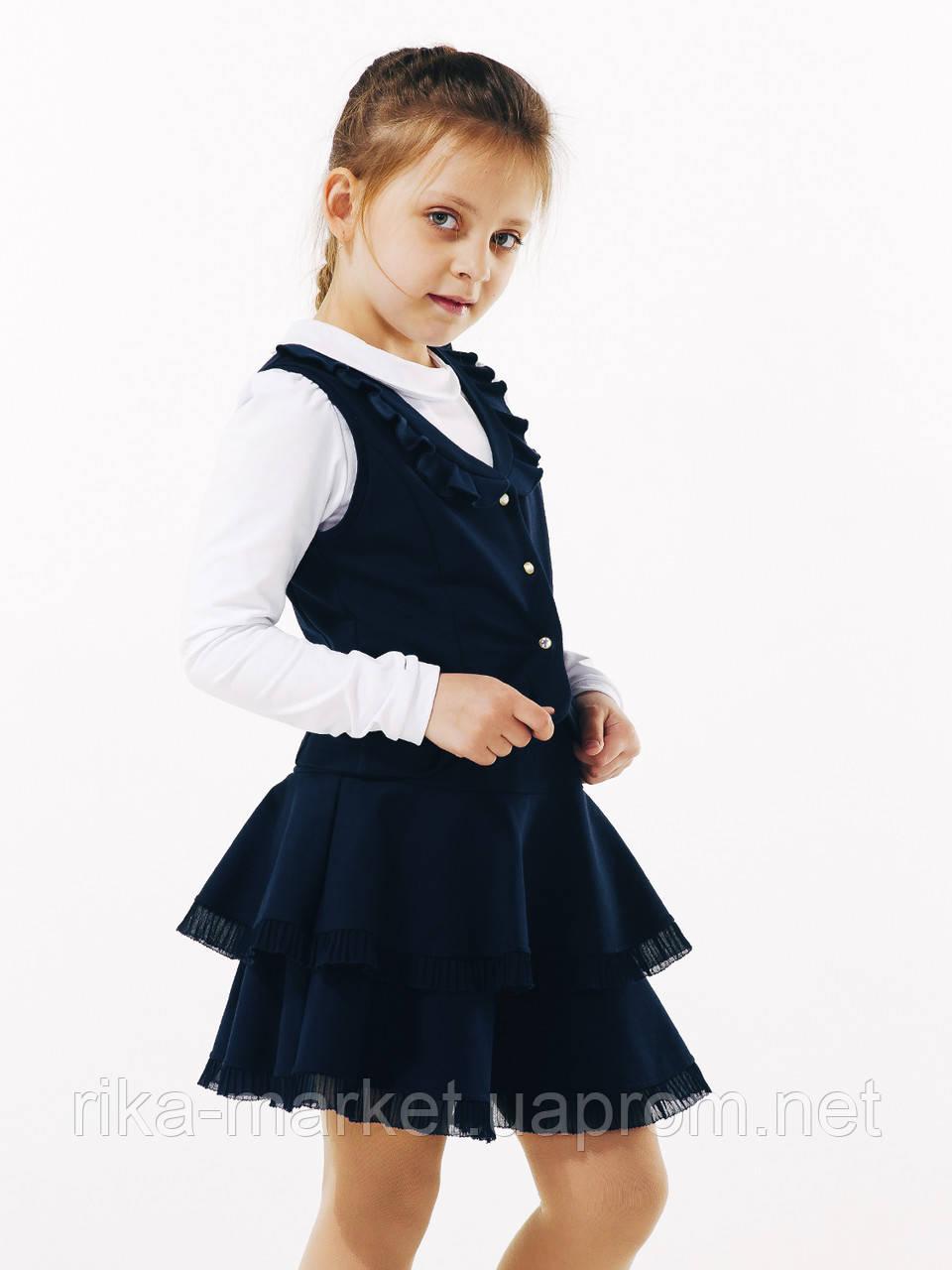 Школьная юбка, ТМ Смил, 120231, возраст 6 - 10 лет