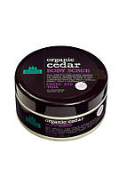 Скраб для тела кедровый ORGANIC CEDAR Planeta Organica, 300мл