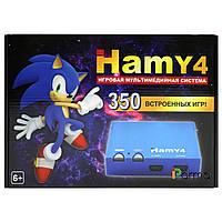Hamy 4 игровая мультимедийная система (350 игр 8-16 бит) черная