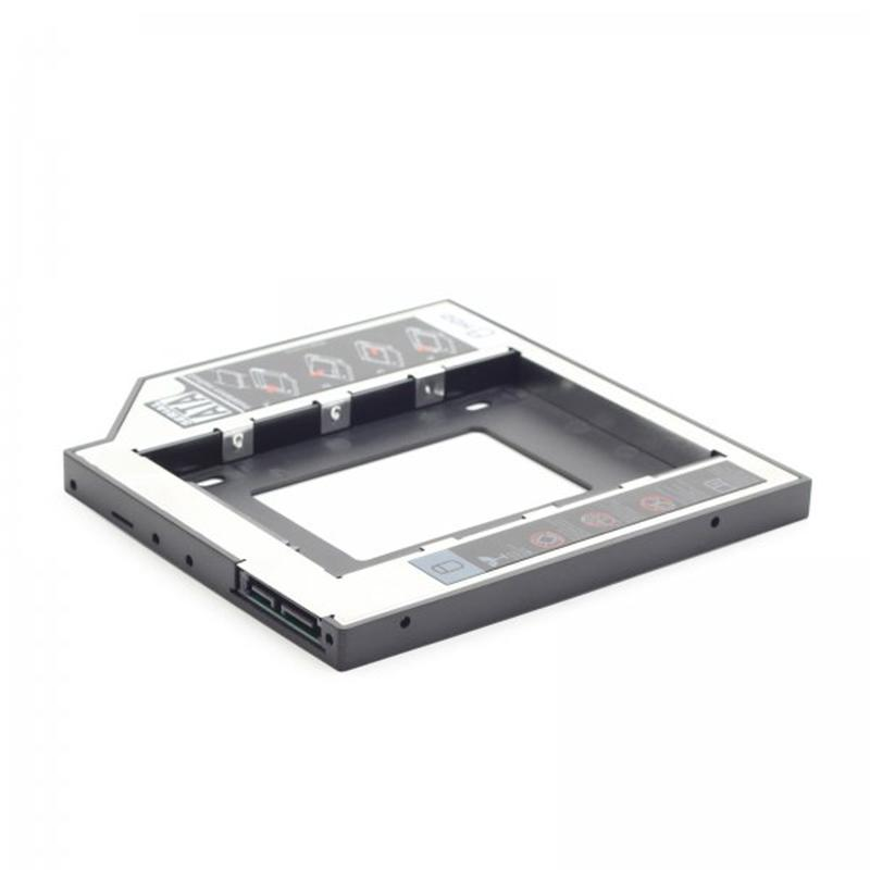 Адаптер HDD 2,5 для ноутбука в отсек CD-ROM Gembird MF-95-01 (9.5 мм)