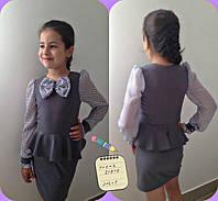 Школьное платье мод. 633