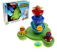 """Игрушка для ванной """"Веселый фонтан"""" (40115) кораблики-пирамидка"""