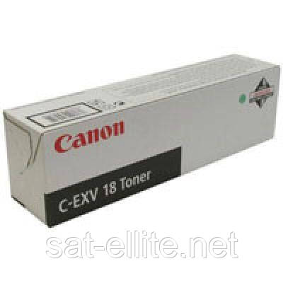 Тонер Canon C-EXV18 (для iR1018/ 1018J/ 1022) (0386B002)
