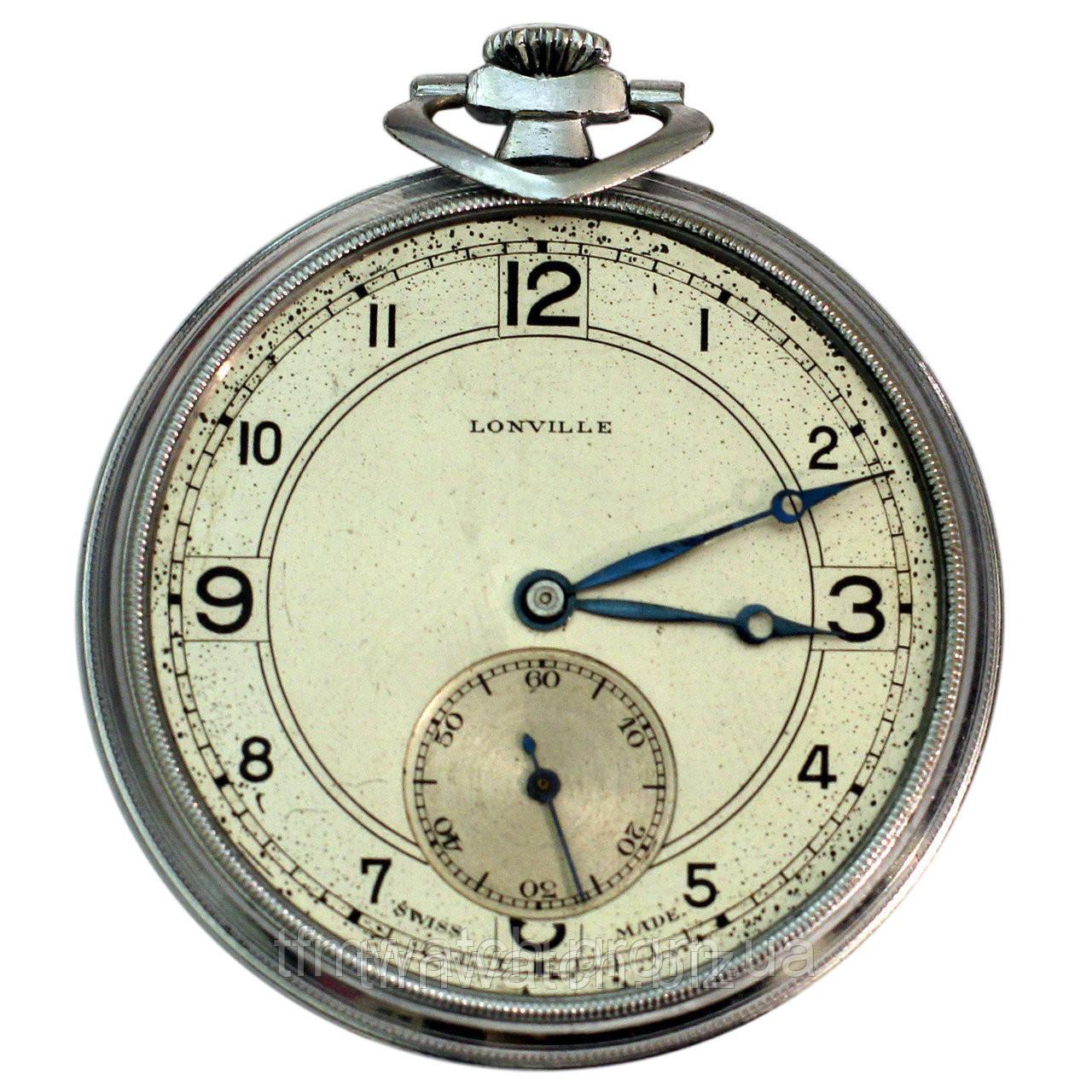 50419f0e Lonville swiss made винтажные карманные часы - Магазин старинных, винтажных  и антикварных часов TFMwatch в