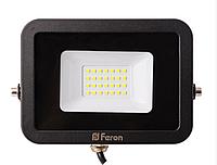 Светодиодный прожектор 30Вт Feron LL-853, 6400К, фото 1