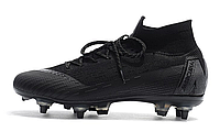 "Футбольные бутсы Nike Mercurial Superfly VI Elite SG AC ""Black"" Арт. 4063"