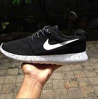 "Кроссовки мужские Nike Roshe Run ""Черно-белые"" р.42"