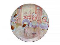 Тарелка Гапчинская 20 см Жизели на репетиции, Lefard 924-201
