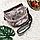 Сумка женская из натуральной кожи 989 маленькая  серебристая, фото 6