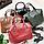 Женская рыжая сумочка из натуральной кожи, фото 2