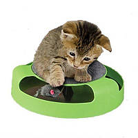 Игрушка для кошек Поймай мышку (когтеточка) Catch the mouse