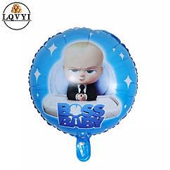 """""""Босс Молокосос"""" фольгированный воздушный шар 45см"""