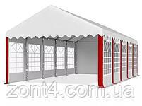 Шатер 5х10 РЕ полипропилен для кафе и бара большой торговый павильон ангар тент с окнами гараж садовая палатка, фото 4
