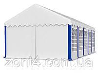 Шатер 5х10 РЕ полипропилен для кафе и бара большой торговый павильон ангар тент с окнами гараж садовая палатка, фото 5