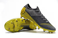 Обзор футбольных бутс Nike Mercurial Vapor XII Elite FG Thunder Grey/Black/Dark Grey