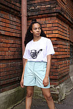 Шорты женские бирюзовые бренд ТУР модель Kathreen (Кэтрин) размер  ХS, S, M, L
