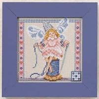 """Набор для вышивки бисером """"Needlework Fairy//Фея вышивания"""" Mill Hill JS301104"""