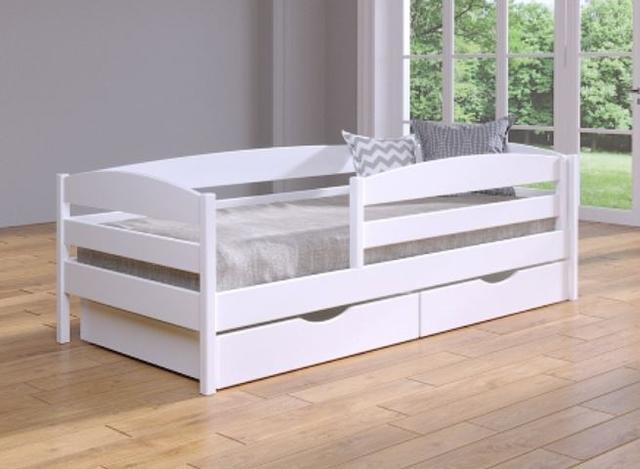 Кровать Нота плюс белый + планка