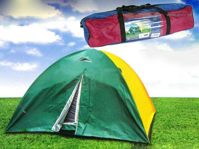 Палатка, двухслойная, шести, 6, местная, туристическая, рыбацкая, кемпинговая, 200х250х150см