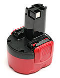 Аккумулятор PowerPlant для шуруповертов и электроинструментов BOSCH GD-BOS-9.6(A) 9.6V 1.5Ah NICD, фото 3