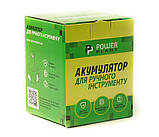 Аккумулятор PowerPlant для шуруповертов и электроинструментов MAKITA GD-MAK-18(B) 18V 4Ah Li-Ion, фото 2