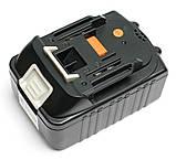 Аккумулятор PowerPlant для шуруповертов и электроинструментов MAKITA GD-MAK-18(B) 18V 4Ah Li-Ion, фото 3