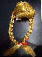 Карнавальный парик с косичками, (460748)