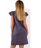 Женское платье летнее с рукавами крылышками размеры от XL ПБ-588, фото 2